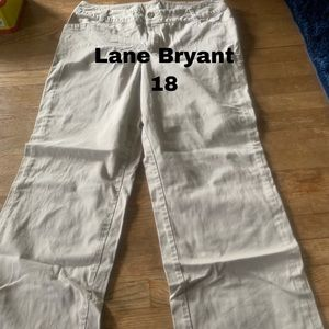 Lane Bryant khakis size 18
